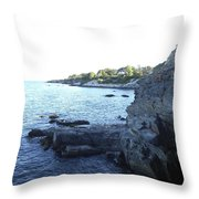 Hidden Cave Throw Pillow