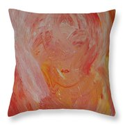 Hidden Face Throw Pillow