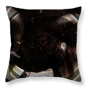 Hidden Faces-featured In Newbies And Visions Of The Night Throw Pillow