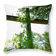 Hidden Faith Throw Pillow