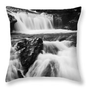 Hidden Falls Sheep River 1 Throw Pillow