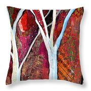 Hidden Forest I Throw Pillow