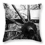 Hidden In Grass  Throw Pillow
