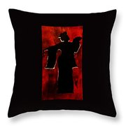 Hidden In Shadows Throw Pillow