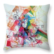 Hidden In The Earth 1 Throw Pillow