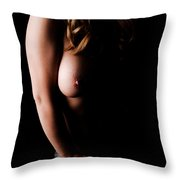 Hidden In The Shadows Throw Pillow
