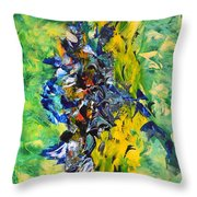 Hidden Paradise Throw Pillow by Isabelle Vobmann