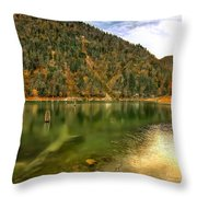 Hidden Paradise Suluklu Gol  Suluklu Lake Throw Pillow