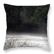 Hidden Places-beyond The Water Throw Pillow