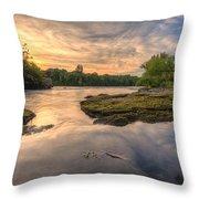 Hidden River Throw Pillow