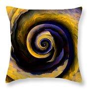 Hidden Sunshine Of The Nautilus Throw Pillow