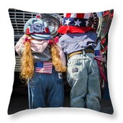 Hide And Seek Chevy Throw Pillow