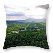 High Country 1 In Wnc Throw Pillow