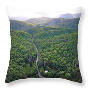 High Country 2 In Wnc Throw Pillow