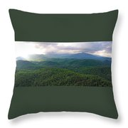 High Country 3 In Wnc Throw Pillow