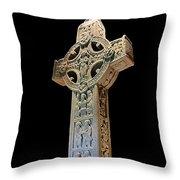 High Cross Of Clonmacnoise Throw Pillow