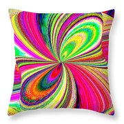 High Definition Color 1 Throw Pillow