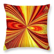 High Definition Color 2 Throw Pillow