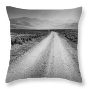Sunbeams On The Mountains Throw Pillow