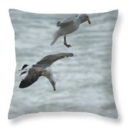 High Dive Throw Pillow