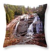 High Falls Throw Pillow