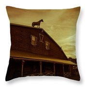 High Horse Throw Pillow