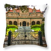 High Living In New Orleans 2 Throw Pillow