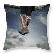 High Over The World Throw Pillow by Joana Kruse