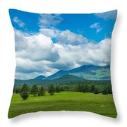 High Peaks Area Of The Adirondack Throw Pillow