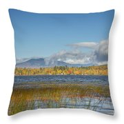 High Peaks Autumn Throw Pillow