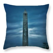 High Point Monument Throw Pillow