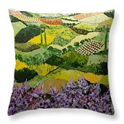 High Ridge Throw Pillow