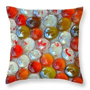 High Rollers Throw Pillow