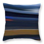 High Speed 4 Throw Pillow