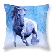 High Stepping Christmas Throw Pillow