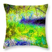 High Street Decor 12 Throw Pillow