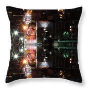 High Street Reflection Throw Pillow
