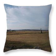 High Tide Of The Confederacy Color Throw Pillow