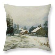 Higham Winter 86 Throw Pillow