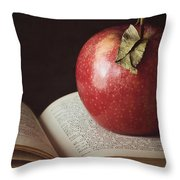 Higher Learning Throw Pillow by Amy Weiss