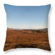 Highland Countryside Throw Pillow
