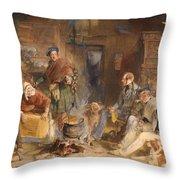 Highland Hospitality Throw Pillow