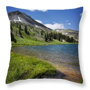 Highland Lakes Throw Pillow