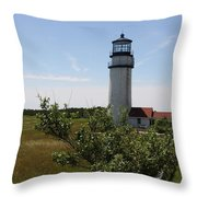 Highland Light - Cape Cod - Ma Throw Pillow