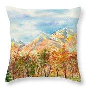 Highlands Autumn Throw Pillow