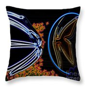 Highlighted  Throw Pillow