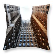 Highrise At Rittenhouse Square Throw Pillow