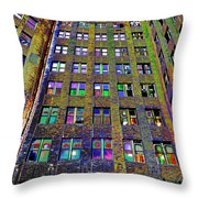 Highrise Surprise Throw Pillow