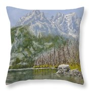 Highwater Pines Throw Pillow