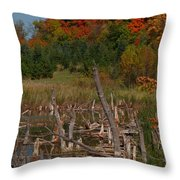 Highway 27 Throw Pillow
